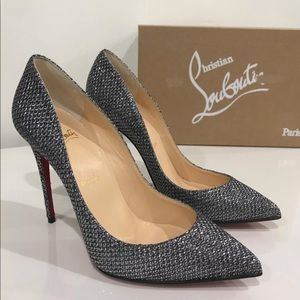 Authentic Christian Louboutin Glitter Pigalle Pump
